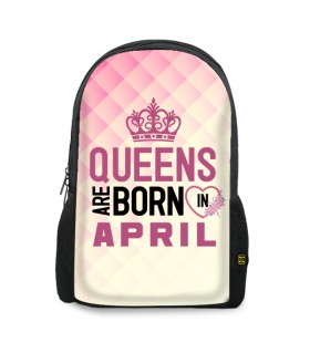 april printed backpacks